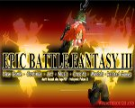 Epic Battle Fantasy 3 Hacked